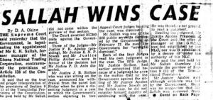 Sallah wins case