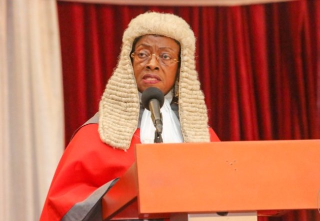 Farewell to Chief Justice Sophia AKuffo